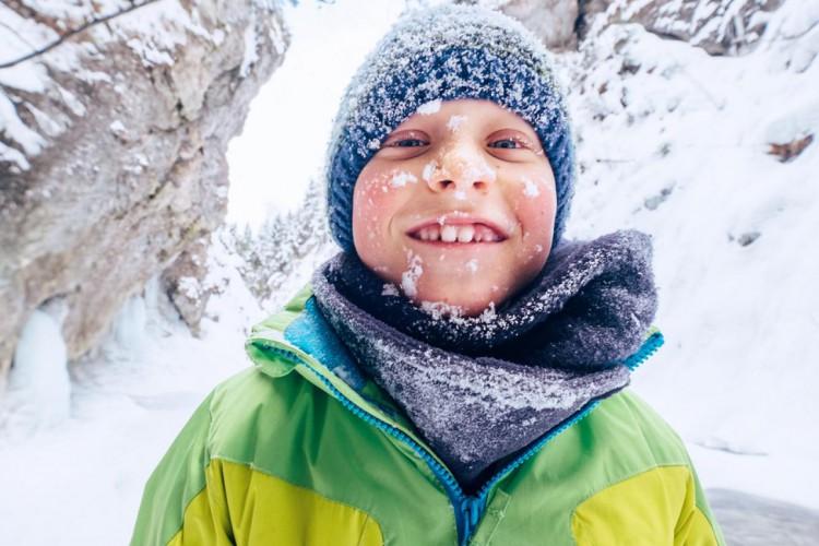 Hoe je kids te wapenen tegen de kou